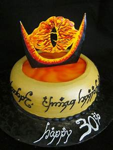 Herr Der Ringe Torte : lord of the rings cake birthday cakes pinterest royal icing transfers cakes and for eyes ~ Frokenaadalensverden.com Haus und Dekorationen