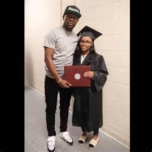 Floyd Mayweather celebrates daughter, Iyanna, as she ...