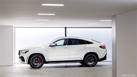 Mercedes me is the ultimate resource, putting control of your vehicle in the palm of your hand. 2021 Mercedes-AMG GLE 53 Coupe 4MATIC+ (Color: Designo Diamond White Bright) - Side | HD ...