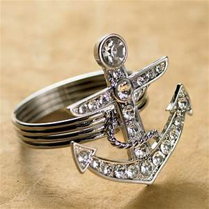 34 best images about nautical wedding on pinterest With anchor wedding rings