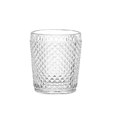 Bicchieri In Vetro by Bicchiere Acqua Vetro Sfaccettato Coincasa