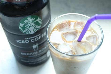 The trick to making the iced coffee is to cold press it or use a french press, and then serve it with a simple syrup and cream. Copycat Starbucks Vanilla Iced Coffee - Heidi's Home Cooking