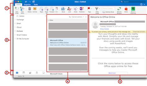 customize  outlook window outlook  mac