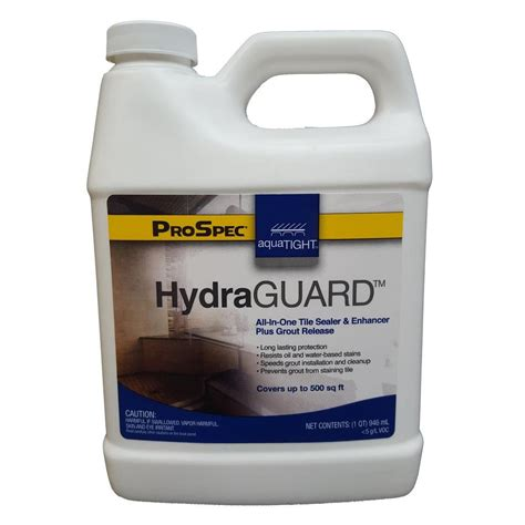 tile grout sealer aquatight 32 oz hydraguard grout concrete paver cement
