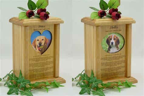 rainbow bridge photo pet urn wood dog urns cat urns ebay