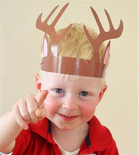 Sven Reindeer Antlers Headband