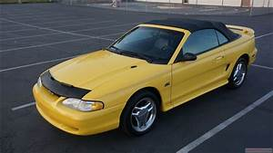 95 Ford Mustang 5.0 GT Conv Full Video Review - YouTube