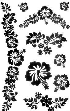 Ideas for tattoo (hibiscus) | Hawaiian flower tattoos, Flower tattoo designs, Flower tattoos