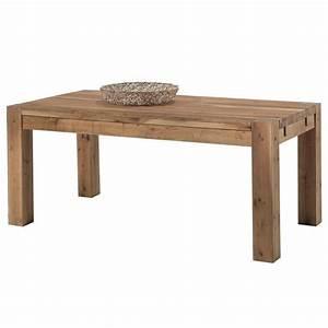 Table Chene Massif : table chene massif authentissima ~ Melissatoandfro.com Idées de Décoration