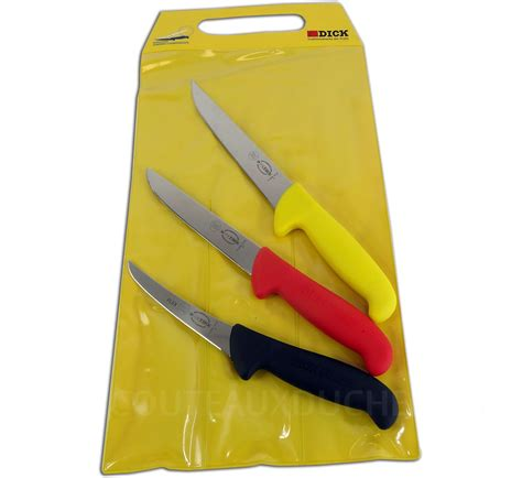 pochette de couteau de cuisine pochette 3 couteaux boucher ergogrip 1 saigner 2