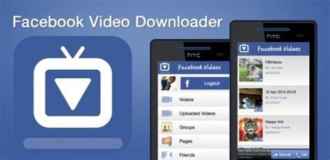 como baixar video do facebook android