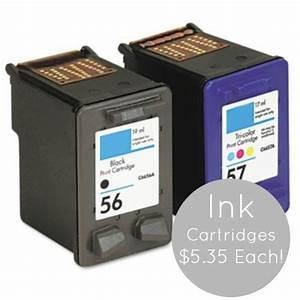 Cheap Inkjet Printer Ink, as Low as $5 35/Cartridge Shipped!