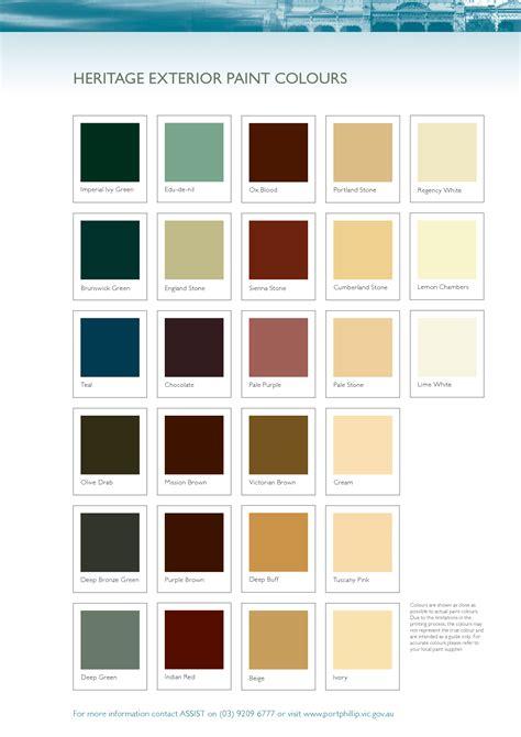 heritage exterior paint colours paint exterior colours