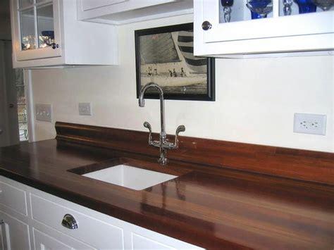 25 Unique Kitchen Countertops : Jatoba Countertop