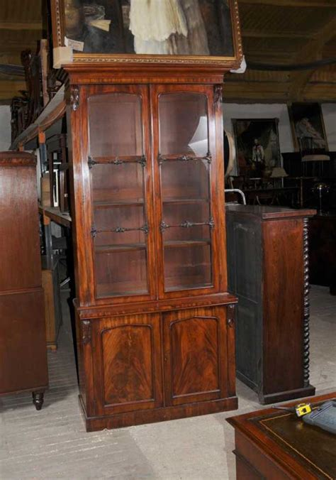Mahogony Bookcase by William Iv Mahogany Glazed Bookcase Cabinet Bookcases