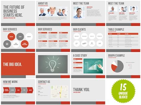 17 best images about pitch deck design pinterest timeline covers decks and joomla themes