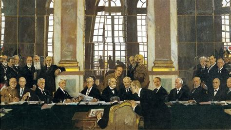 Treaty Of Versailles Definition Terms And Wwi History