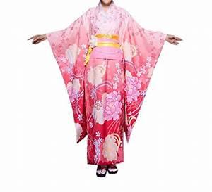 Kimono Femme Long : acvip femme el gant kimono japonais long peignoir robe de ~ Dode.kayakingforconservation.com Idées de Décoration