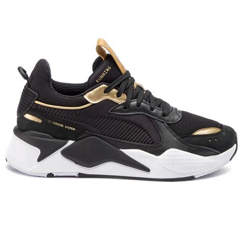 sneakers puma rs  trophy   puma blackpuma team gold sneakers  shoes mens