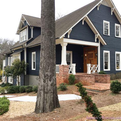 blue gray exterior paint grey house blue shutter