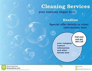 cleaning brochure templates free the best templates With cleaning company flyers template