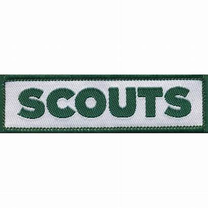 Scouts Woven Badge Scout Fun Badges Guide