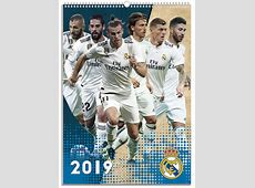 Real Madrid FC A3 Calendar 2019 Calendar Club UK