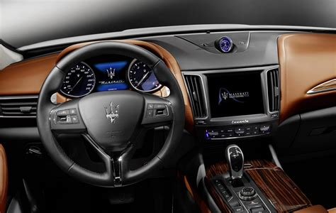 maserati levante suv detailed  geneva