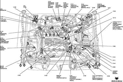 diagram   ford escort engine