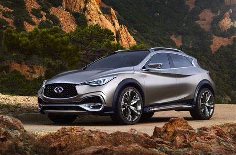 Infiniti Sales 2016 by Infiniti Qx30 Concept Revealed Will Go On Sale In 2016