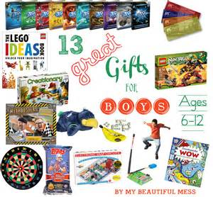 13 great gift ideas for grade school aged boys ages 6 12 christmas holiday giftideas