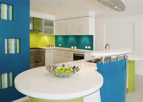 turquoise and green kitchen brighten your creative kitchen with colorful cabinetry ideas 6398