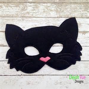 cat masks black cat mask