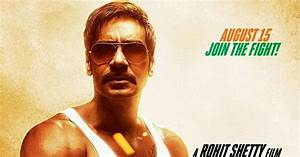 Singham Returns (2014) First Look Poster - Ajay Devgan and ...