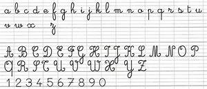 French Cursive Handwriting - K-8 Curriculum Board - The ...