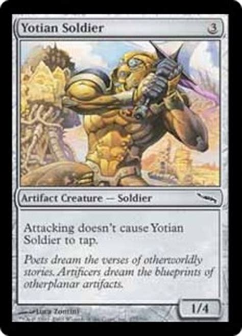 Cat Deck Mtg Modern by Yotian Soldier Magic Card