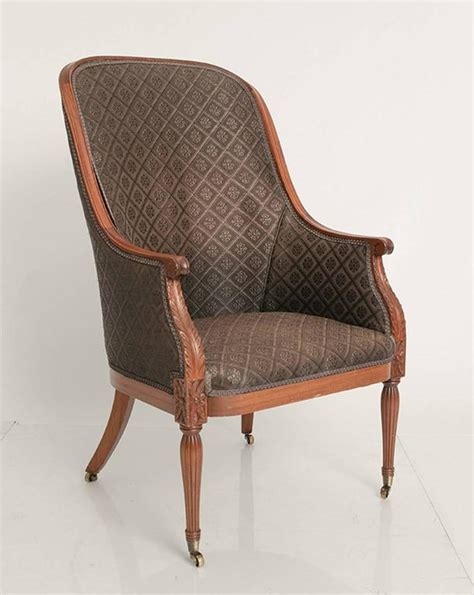 louis xvi chairs upholstered in horsehair for sale at 1stdibs