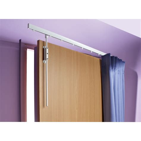 tringle 224 rideau de porte ib long 100 cm pour rideau 224