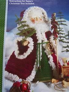 Old World Santa S Nick Crochet Doll Clothes Pattern Fibre