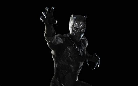 Black Panther Hd Wallpaper For Mobile by Black Panther Captain America Civil War Wallpapers Hd