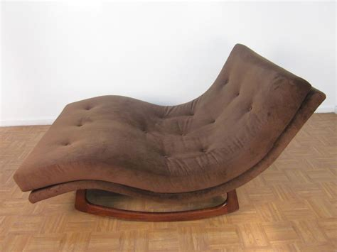 brown fabric wide chaise lounge chairs with brown