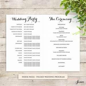 byron printable wedding order of service template With christian wedding order of service template