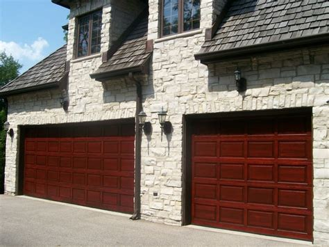 wood garage doors chicago wood garage door refinishing traditional garage and shed chicago by painting in