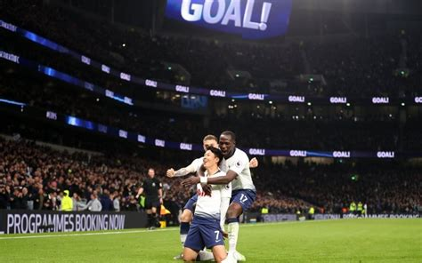 Tottenham 2-0 Crystal Palace: Son Heung-min and Christian ...