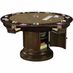 howard miller ithaca round poker table 699012