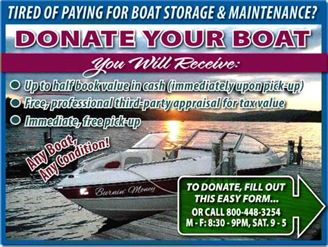 Boat Donation Nyc donate boat receive up to half value
