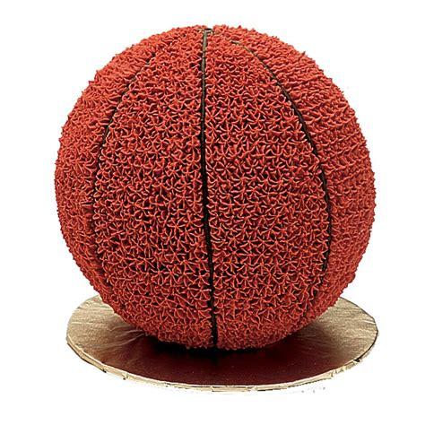 basketball cake wilton