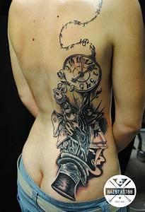Alice in Wonderland Tattoo by nazotattoo on DeviantArt ...