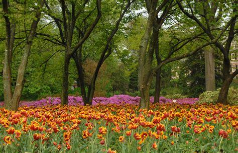 Spring Blooms At Sherwood Gardens Through The Years