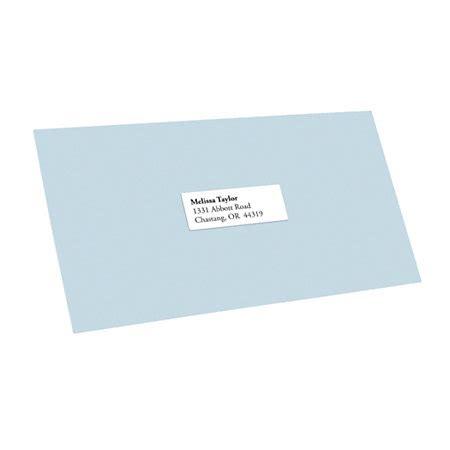 office depot brand white inkjetlaser address labels